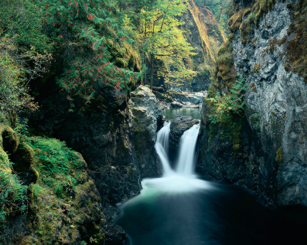 Englishman Falls Lower bc