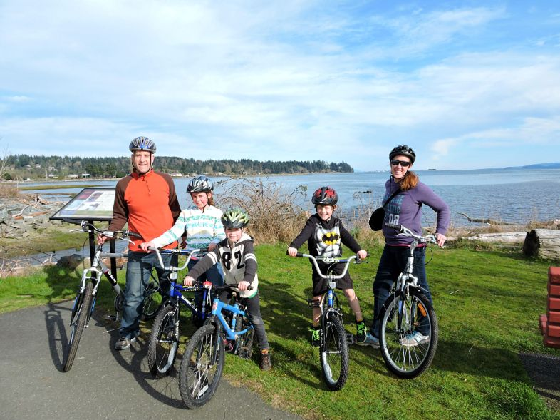 Comox Valley Activities, Family activities Comox Valley, Bike Rides in Comox Valley, Winter Activities Comox Valley, Courtenay family activities, what to do in Courtenay