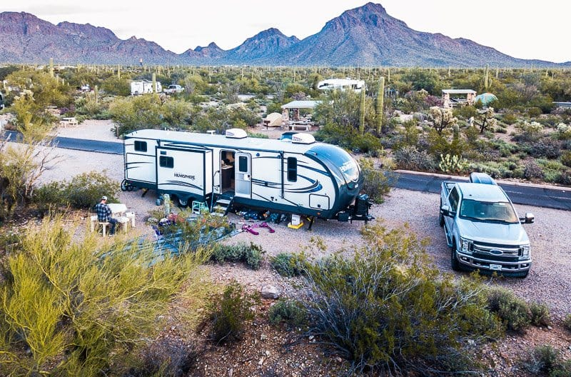 best campgrounds in arizona