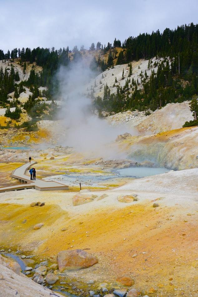 Lassen Volcanic National Park, North California