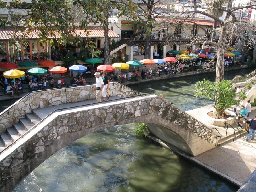 River Promenade at San Antonio Texas