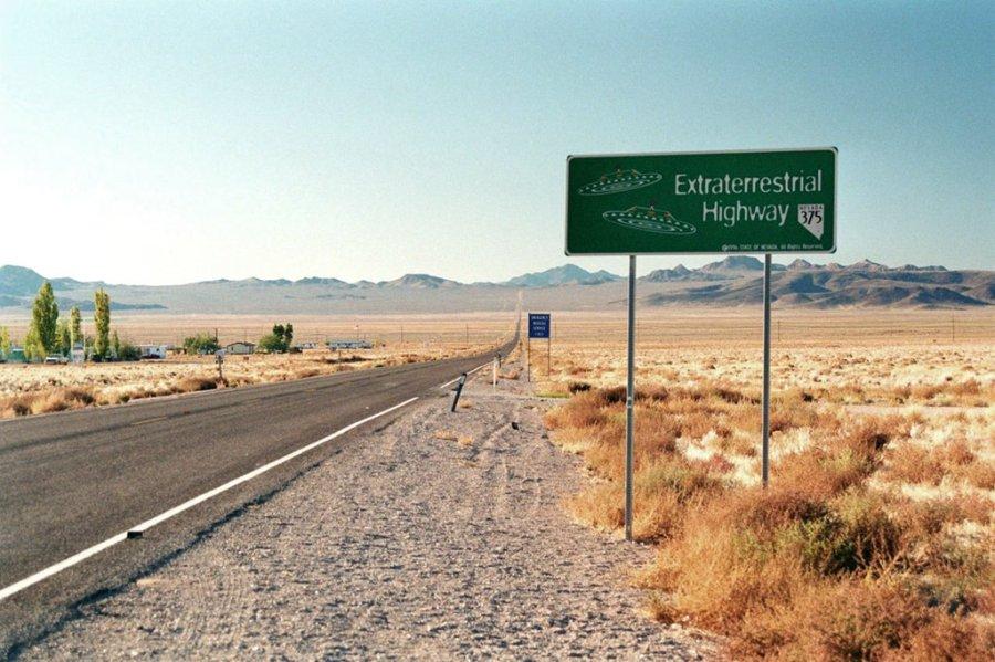 Rachel NV Hwy 375 - Extraterrestrial Highway, Nevada