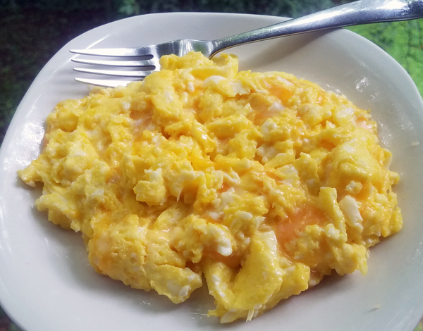 Perfect Cheesy Eggs
