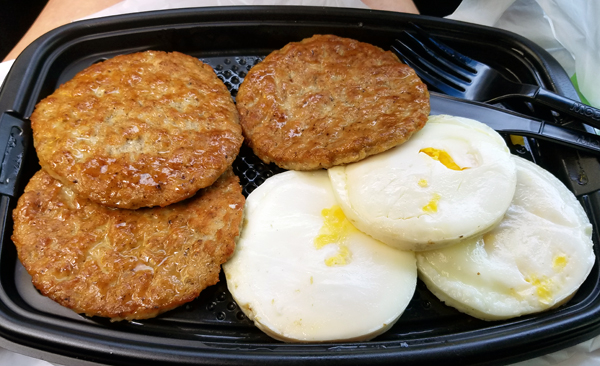 LCHF McDonald's Keto Breakfast - Low Carb On The Go
