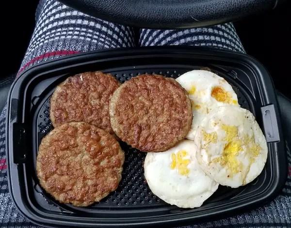 McDonald's Keto Breakfast