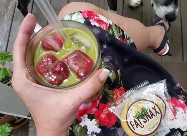 Iced Matcha Tea - Keto Refreshment!