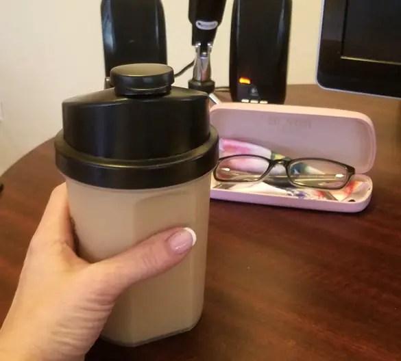 Keto Breakfast Shakes at Work