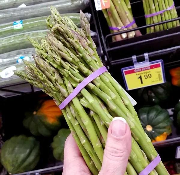 Keto Vegetables : Asparagus