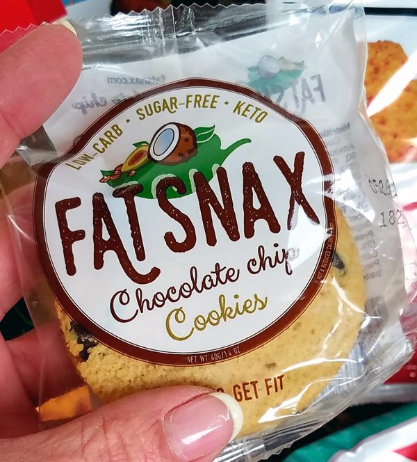Fat Snax Low Carb Cookies in Keto Krate