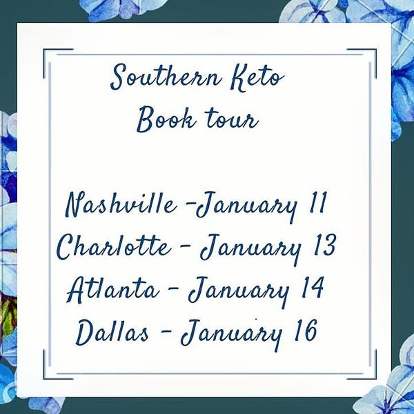 Southern Keto Cookbook Tour