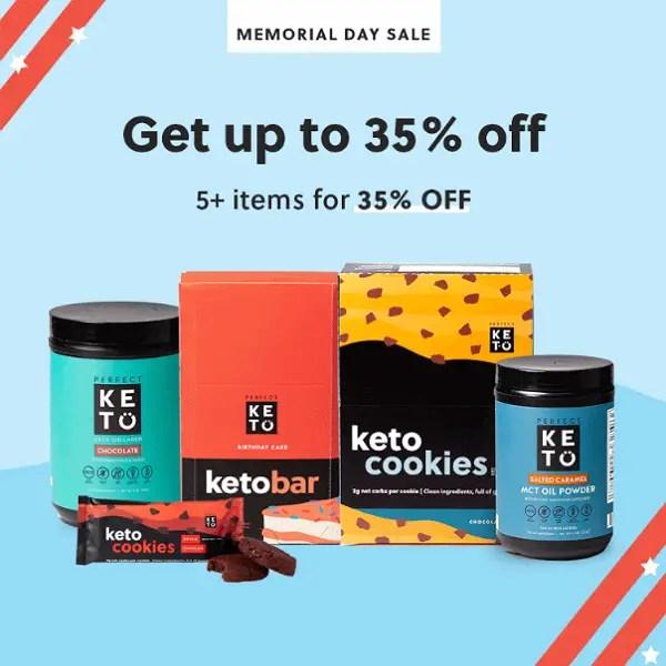 Perfect Keto Sale 35 percent off