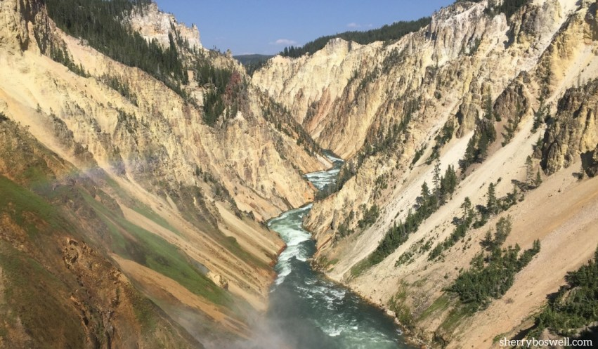 Make the most of a Yellowstone vacation with these tips, including must see spots like the Grand Canyon where the Yellowstone River cascades into the gorge.