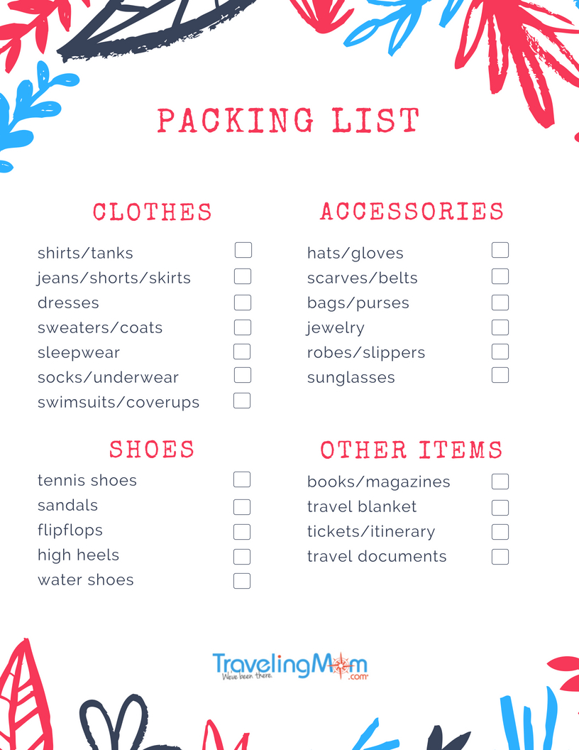 Ultimate Packing List For Family Travelers | TravelingMom