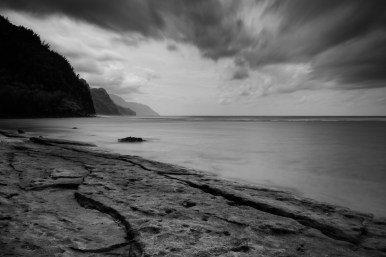 Ke'e Beach - The end of the road on Kauai