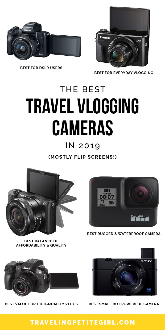 Best Small Camera 2021 The Best Travel Vlogging Cameras in 2020   Traveling Petite Girl