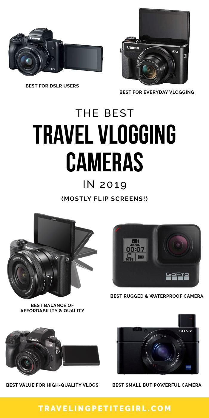 Best Travel Cameras 2021 The Best Travel Vlogging Cameras in 2020   Traveling Petite Girl