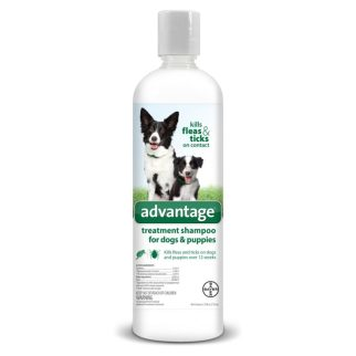 Advantage Shampoo Flea and Tick Treatment for Dogs