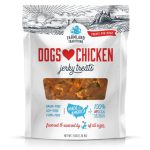 Farmland Traditions Usa Made Chicken Jerky Dog Treats for walking with your dog