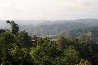 Blick von Salento auf die Umgebung