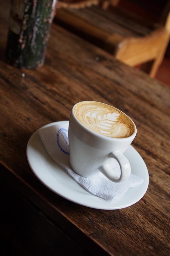 Leckerer Kaffee im Kaffeehaus Jesus in Salento