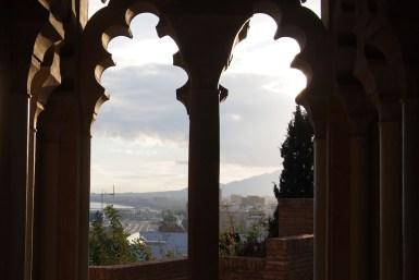 Burg Alcazaba in Malaga