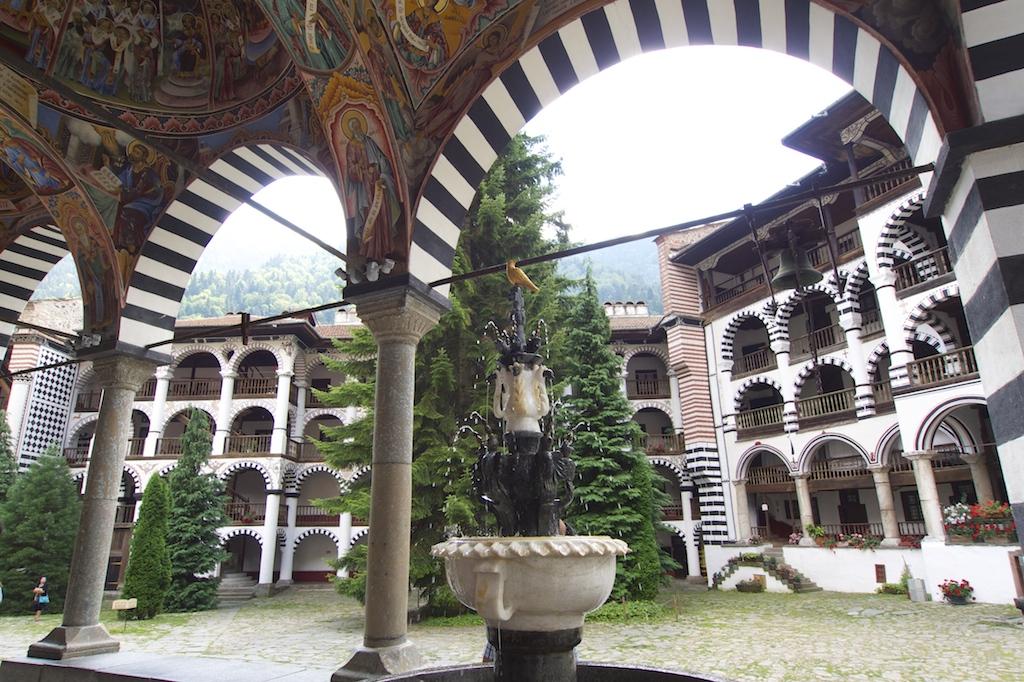 Rila-Kloster im Rila-Gebirge