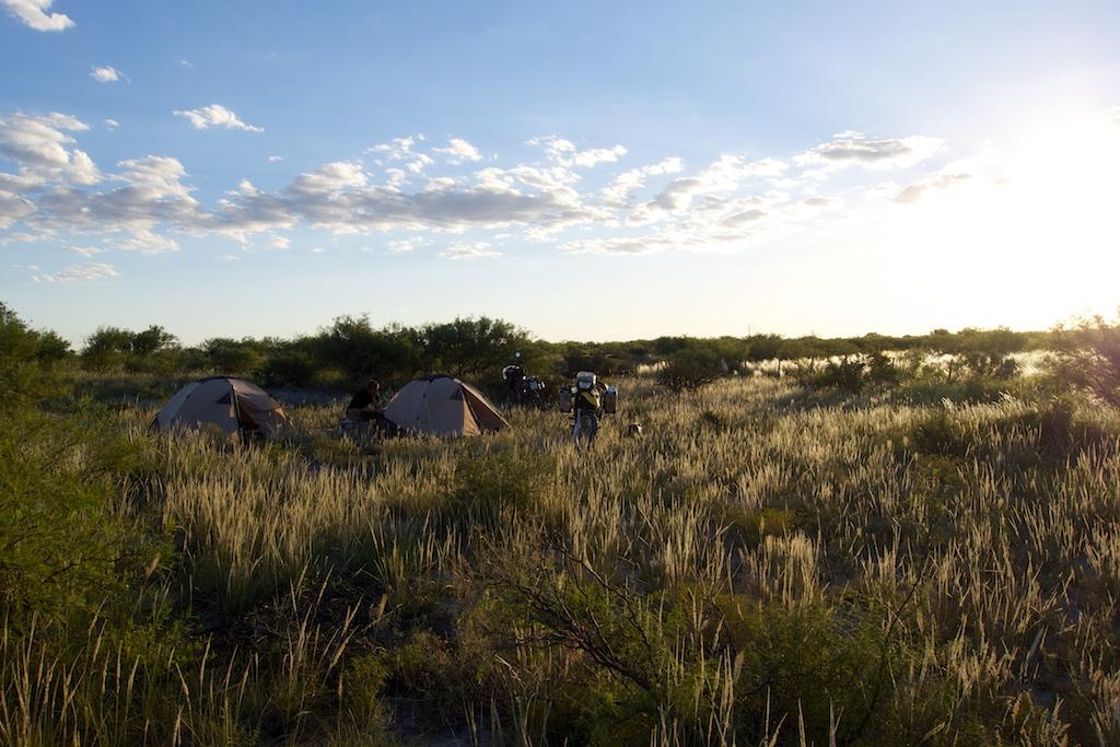 Wild campen in Argentinien