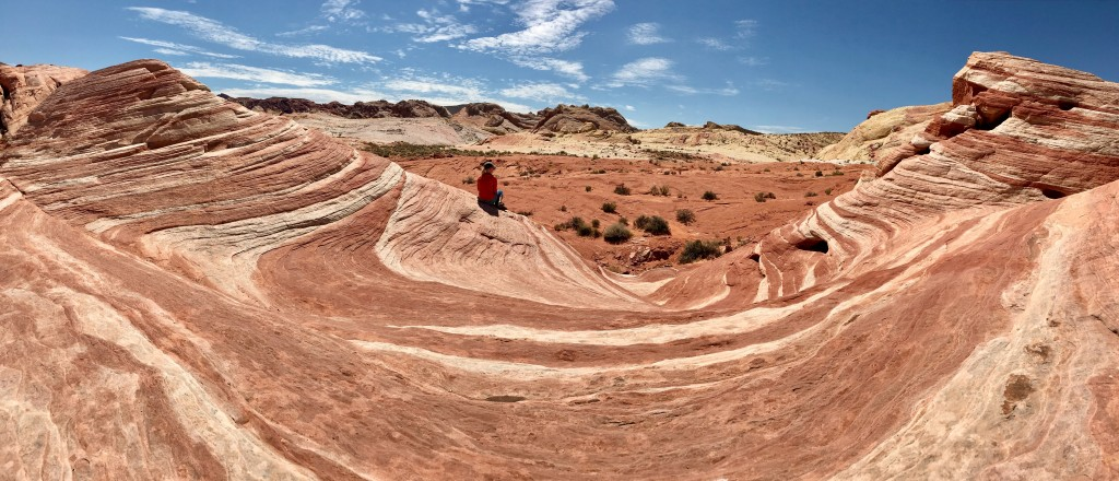The wave im Valley of Fire State Park