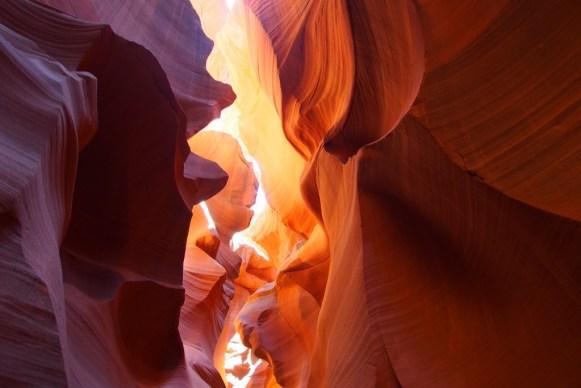 Lower antelope canyon