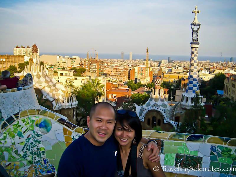 Gaudi's Parc Guell, Barcelona, Spain