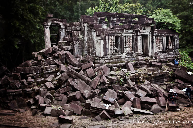 The Library, Beng Mealea, Cambodia