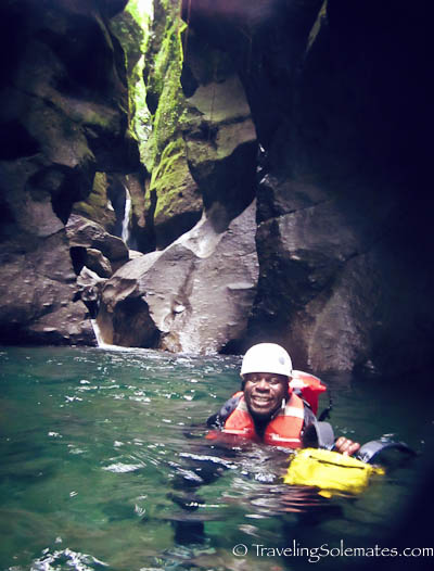 Canyoning in Dominica