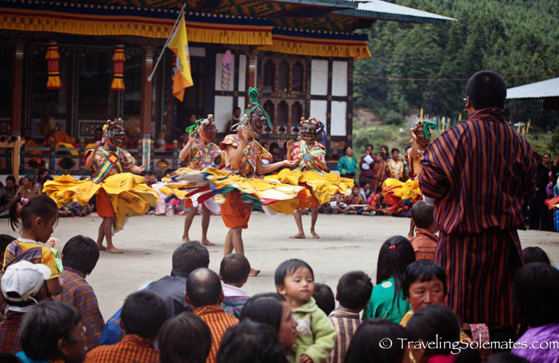 Bhutanese Festival Mask Dances in Bhutan | Traveling Solemates