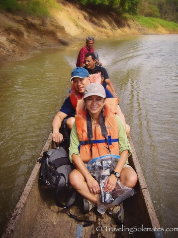 Boat ride to Embera Village, Upper Chagres River, Panama