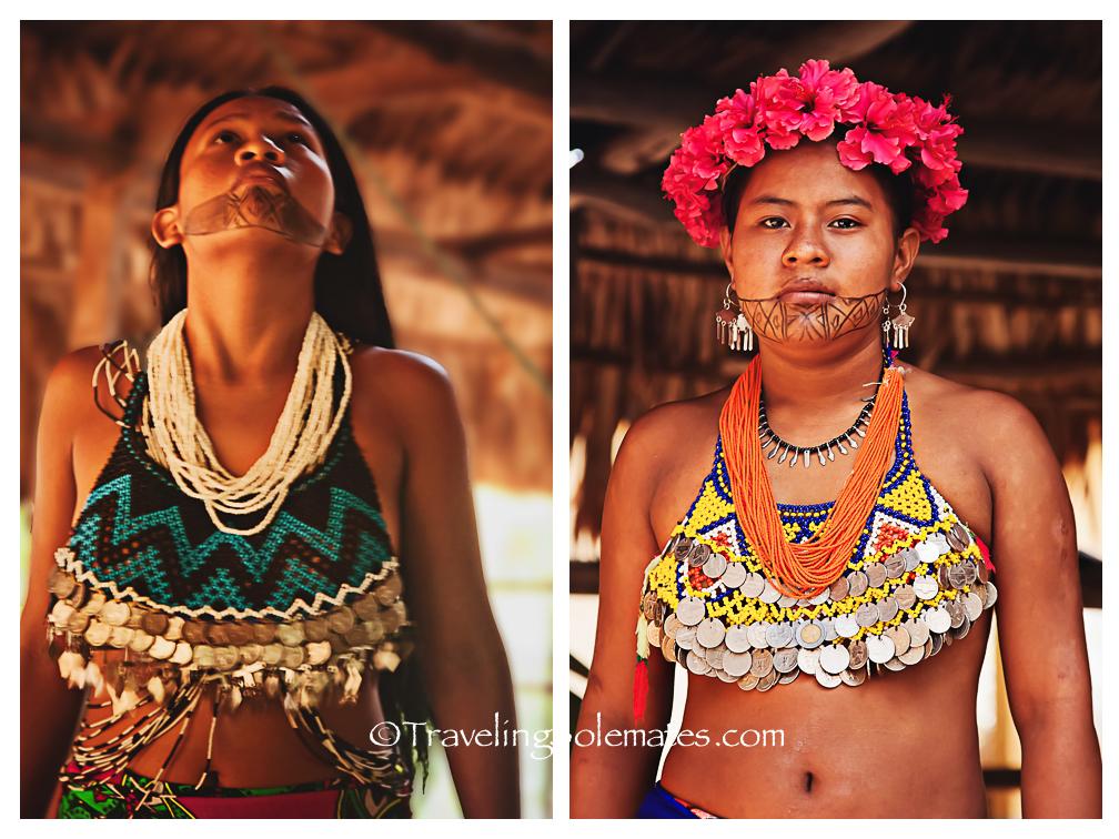 Women of Embera Village, Panama