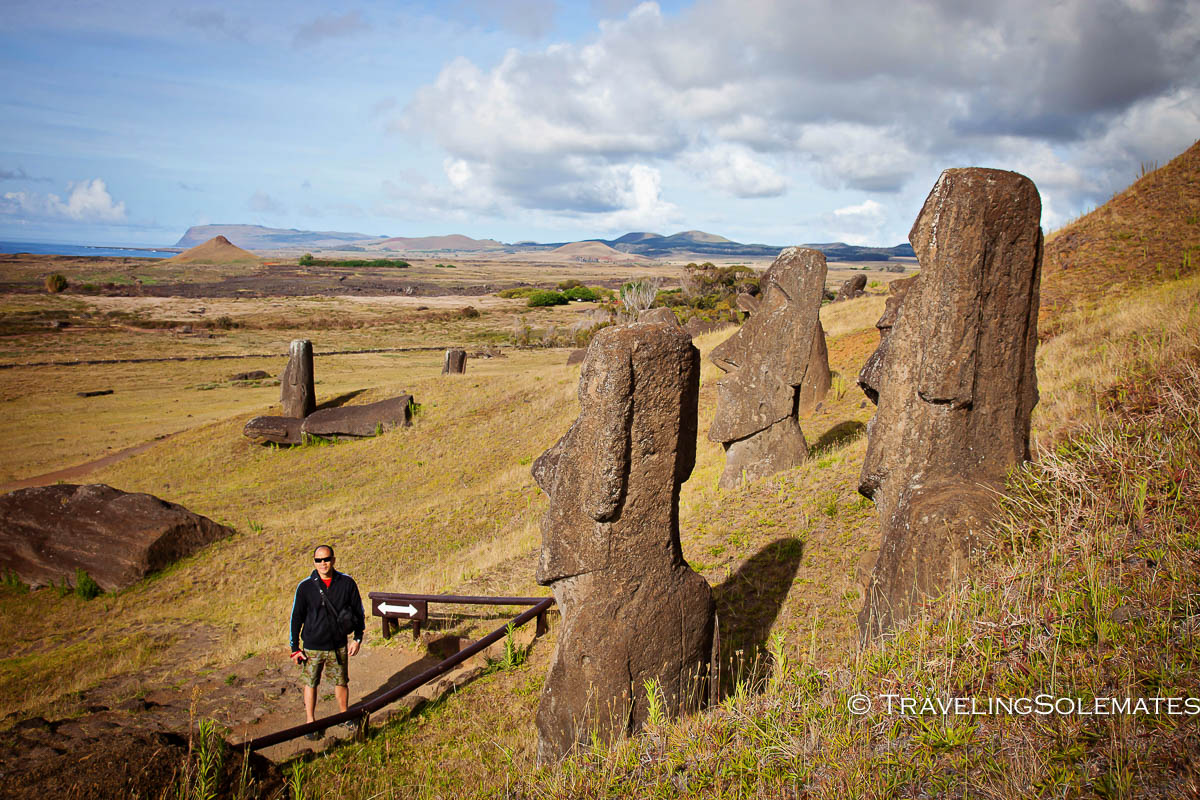The Mysterious Statues Moai of Easter Island  Traveling
