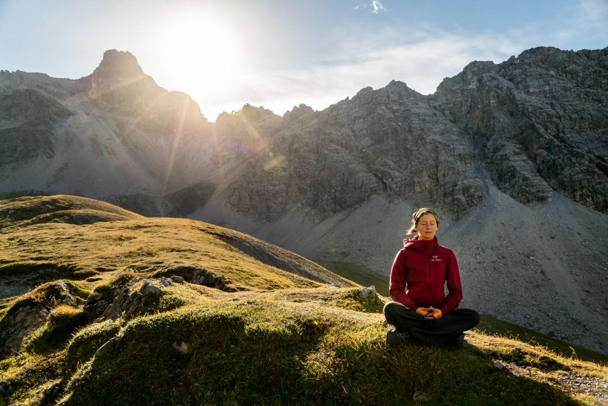 Meditation   Der Kampf mit dem Kopf