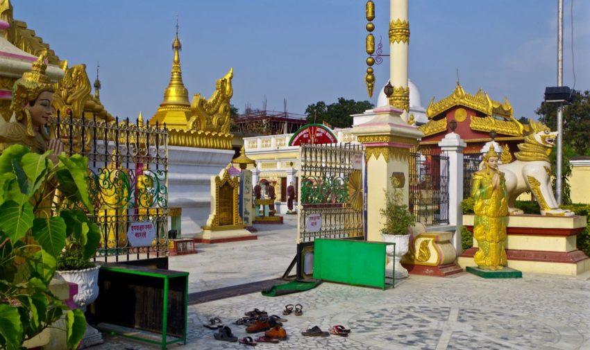 Kushinagar-Buddha