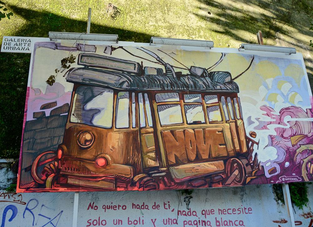 Portugal Lissabon Städtetrip Reiseblog Traveling the World Galeria de Arte Urbana