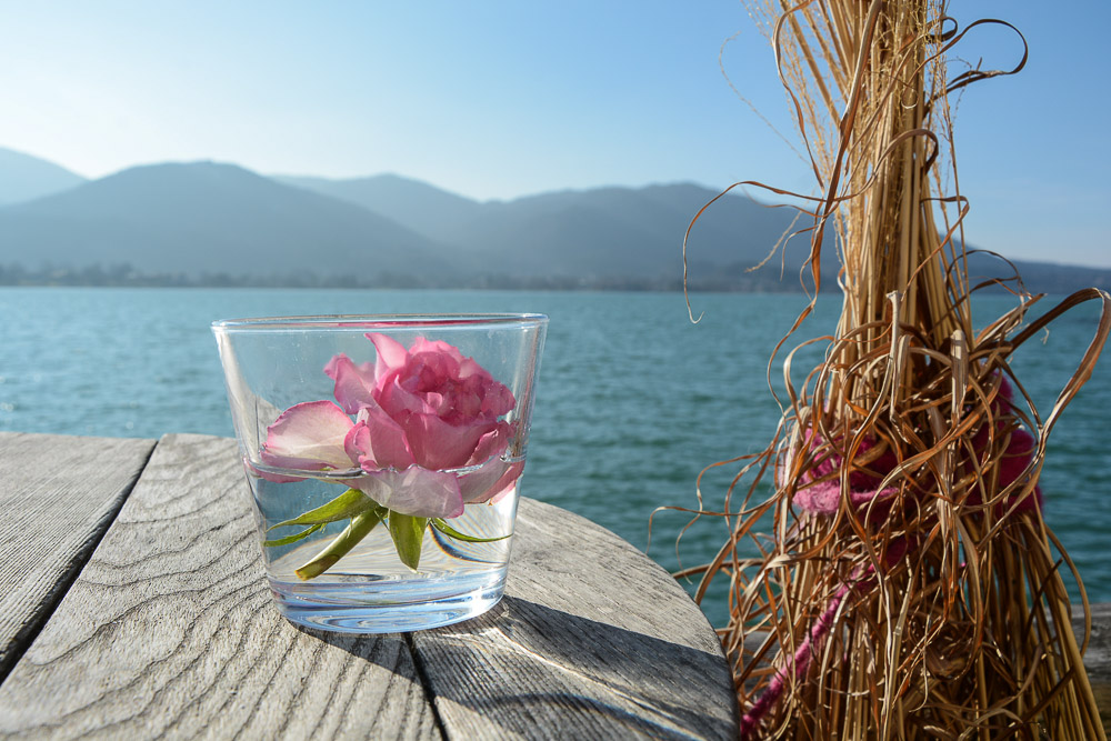 Bayern Tegernsee Café Seehaus Reiseblog Traveling the World