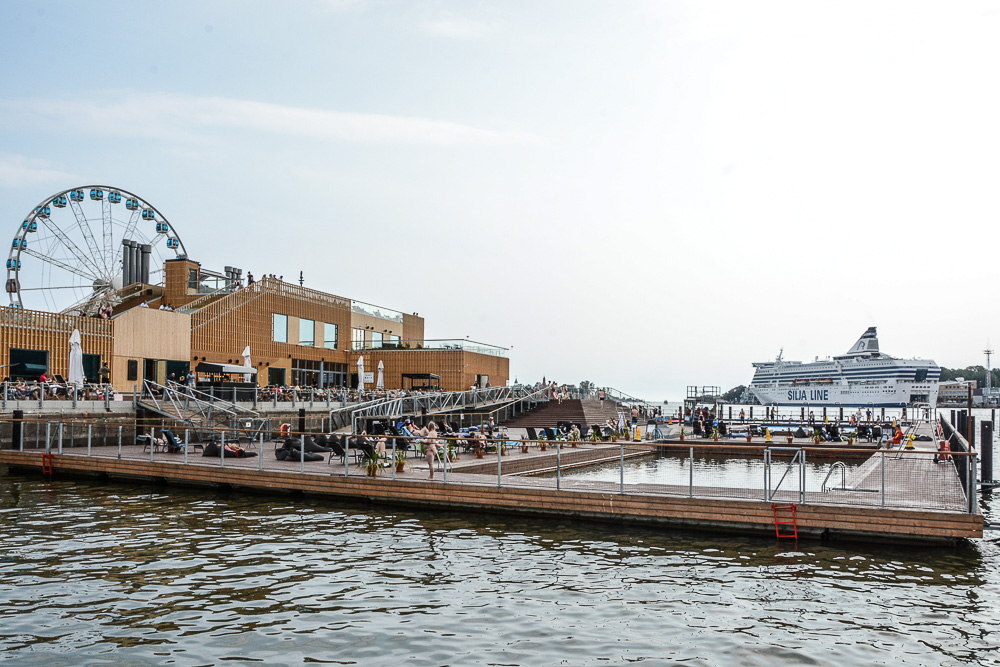 Traveling the World Tallink Silja Helsinki Allas Sea Pool
