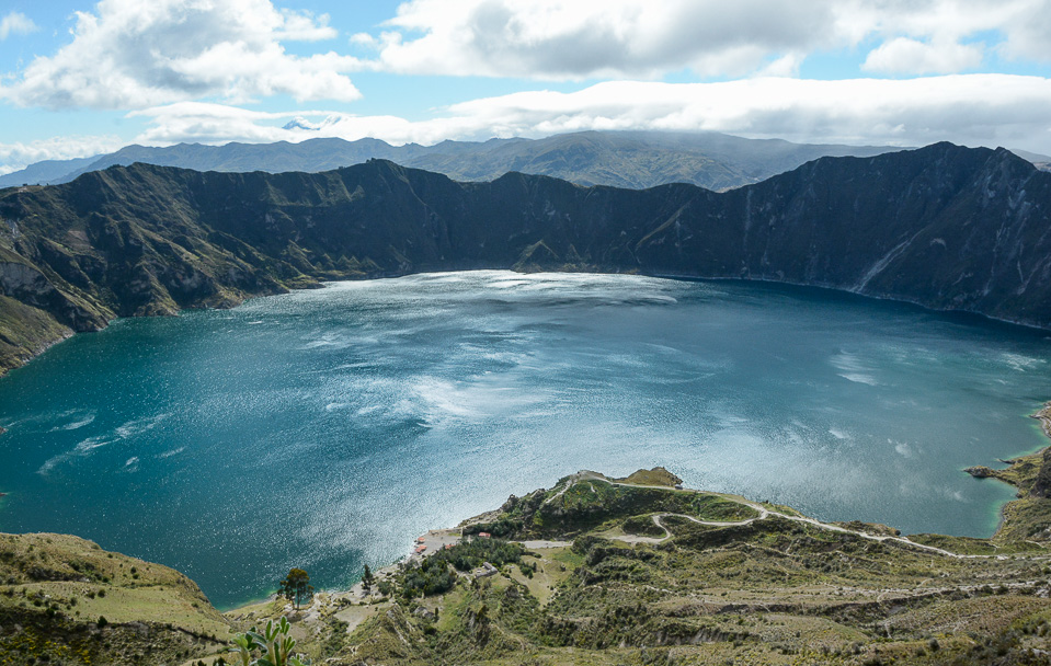 Traveling the World Fotoparade Schönste Reisefotos 2018 Ecuador Quilotoa Lagune