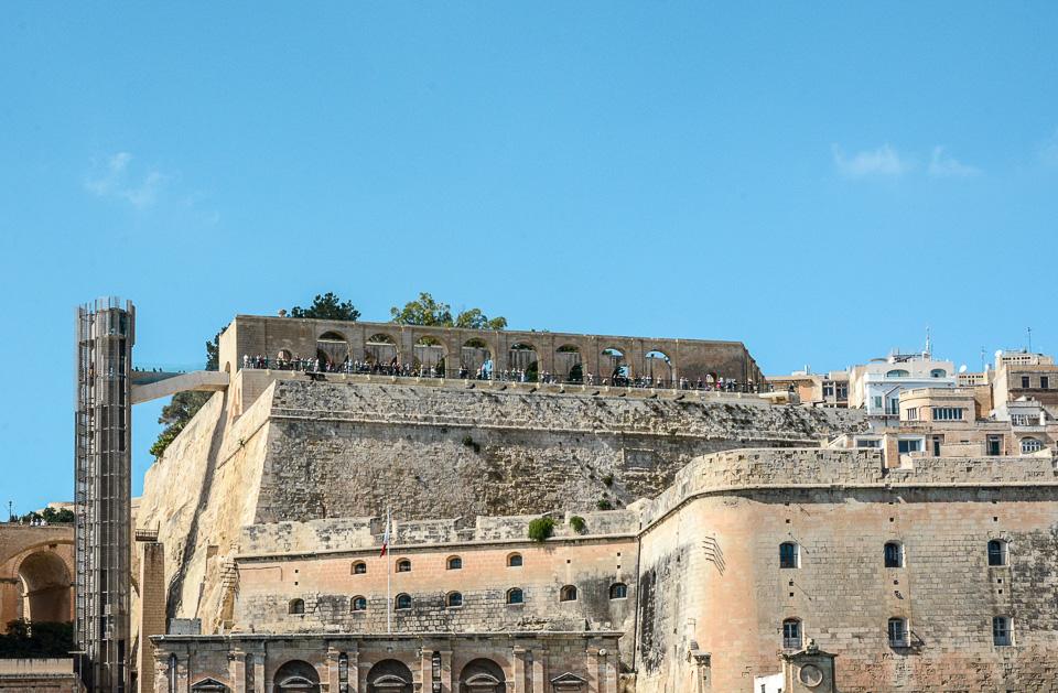 Traveling the World Malta Valletta Upper Barrakka Gardens