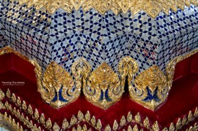 Embellishment on the Temple of the Emerald Buddha