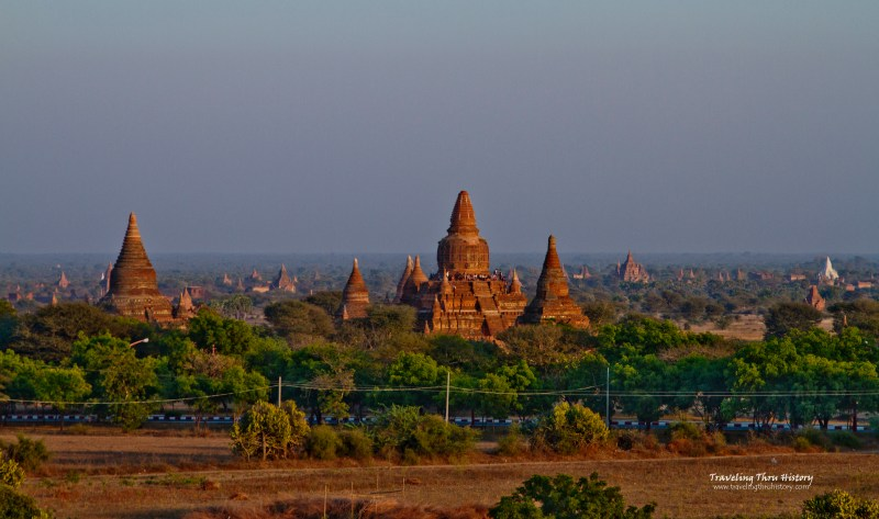 Bagan, Myanmar, ruins, stupa, Burma, Pagan, temples, landscape