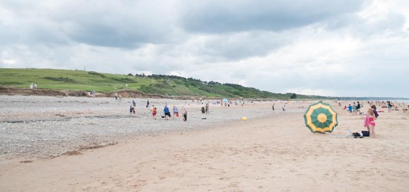 Omaha Beach, Normandy, France,