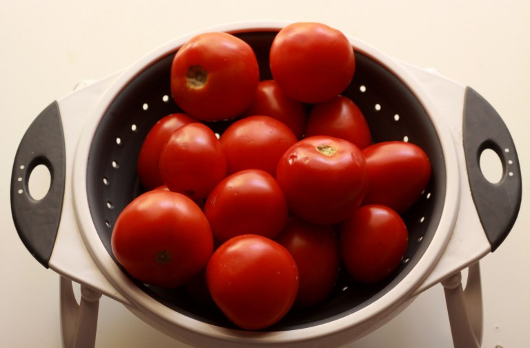 tomatoes for BBQ sauce