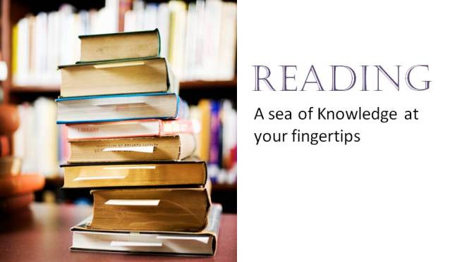 A love for Reading: Introducing the reading list