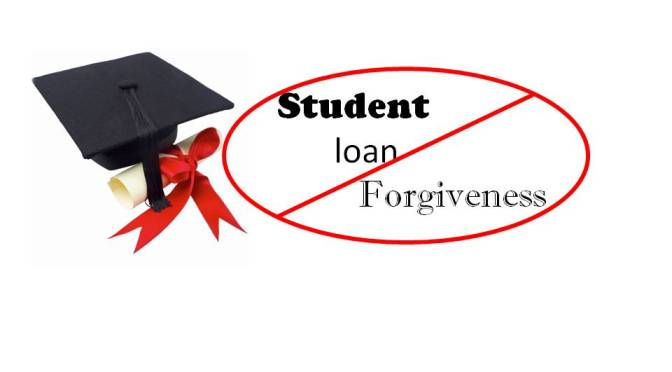 Why I don't endorse student loan forgiveness