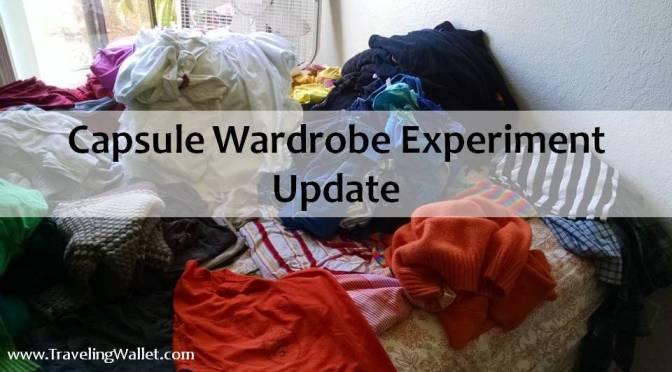 Capsule Wardrobe Experiment Update